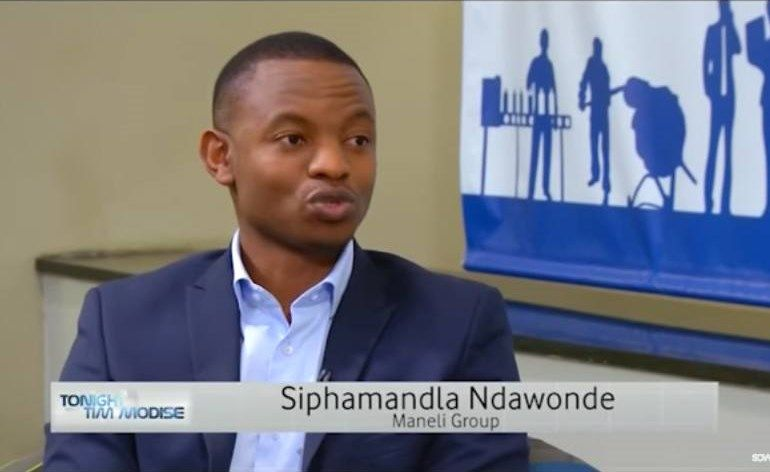Tim Modise interviews Siphamandla Ndawonde, MD of Maneli Pets